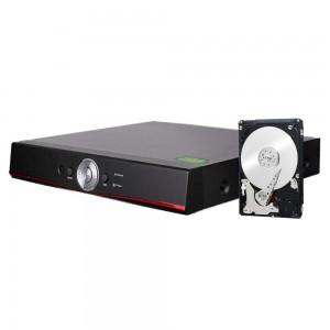 DVR 5in1 AHD TVI CVI VIDEOSORVEGLIANZA XVR 8 CANALI 5 MPX LAN HDMI AUDIO VIDEO HARD DISK 500GB