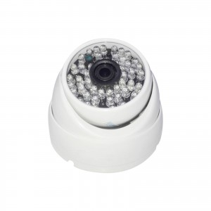 TELECAMERA DOME AHD SORVEGLIANZA FULL HD 1080P 3.6 MM 48 LED VIDEO 3 MPX