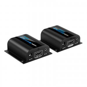 EXTENDER HDMI ATTIVO 1080P FULL HD 3D  IR SU CAVO LAN RJ45 60 METRI