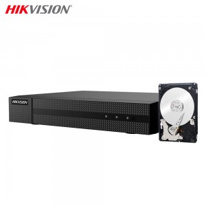 HIKVISION HWD-5116M DVR 5IN1 AHD CVI TVI CVBS IP 16 CH CANALI UTC 2 MPX HD 500 GB