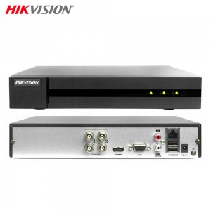 HIKVISION HWD-6104MH-G2 DVR 5IN1 AHD CVI TVI CVBS IP 4 CANALI UTC 4 MP TURBO HD