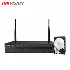 NVR 8 CANALI 4MPX H.265+ WIRELESS WIFI UTP ONVIF HIKVISION 500GB
