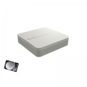 DVR HDTVI AHD CVBS VIDEOSORVEGLIANZA H.264+ HDMI LAN 4CH CANALI AUDIO VIDEO HD 2 TB