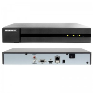 NVR 4 CANALI HIKVISION ONVIF 8 MP H265+ H264 HDMI VGA 4K P2P HWN-4104MH