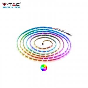 V-TAC VT-5050 STRISCIA 150LED SMD5050 STRIP 5M ADESIVA IP65 MULTICOLOR RGB - SKU 2118