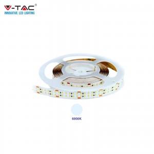 V-TAC VT-2216 STRISCIA LED SMD2216 24V 5M CRI >95 BIANCO FREDDO 6000K IP20 NO WP - SKU 2582
