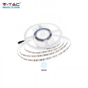V-TAC PRO VT-5-120 STRISCIA LED CHIP SAMSUNG SMD2835 12V 5M BIANCO FREDDO 6000K IP20 NO WP - SKU 325