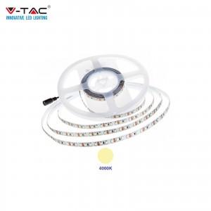 V-TAC PRO VT-5-120 STRISCIA LED CHIP SAMSUNG SMD2835 12V 5M BIANCO NATURALE 4000K IP20 NO WP - SKU 324