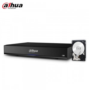 DVR 5in1 DAHUA XVR7108HE-4KL-X 8 CANALI 8MPX 4K 2TB HDD ANALISI INTELLIGENTE