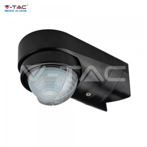 SENSORE DI MOVIMENTO INFRAROSSI CREPUSCOLARE 180° IP65 ANGOLARE REGOLABILE LED V-TAC VT-8094 SKU 6612