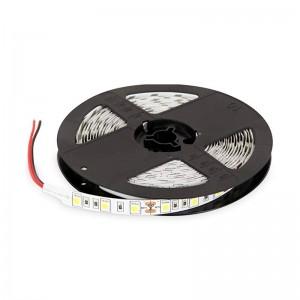 STRISCIA A LUCE LED BIANCA FREDDA SMD 5050 STRIP 5 METRI 300 LED IMPERMEABILE