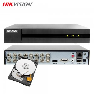 HIKVISION HWD-6116MH-G2 DVR 5IN1 16 CANALI UTC 4 MPX TURBO HD 500GB