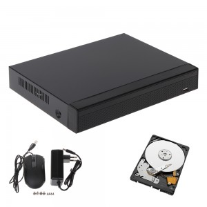 DVR IBRIDO 5in1 4 CANALI AHD HD-CVI HD-TVI CVBS TCP/IP 1080N APTI-XB0401-S32 320GB HARD DISK