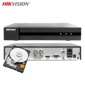 HIKVISION HWD-6104MH-G2 DVR 5IN1 AHD CVI TVI CVBS IP 4 CANALI UTC 4 MP TURBO HD 500GB