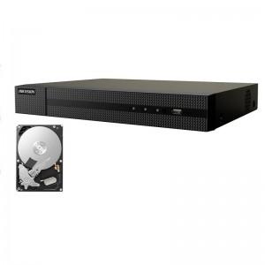 NVR 8 CANALI HIKVISION ONVIF 8 MP H265+ 4K P2P HWN-4108MH HD 500 GB