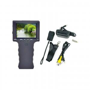 TESTER TELECAMERE CCTV MONITOR PORTATILE 3.5'' RICARICABILE PER TEST TELECAMERE SORVEGLIANZA
