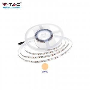 V-TAC PRO VT-5-120 STRISCIA LED CHIP SAMSUNG SMD2835 12V 5M BIANCO CALDO 3000K IP20 NO WP - SKU 323