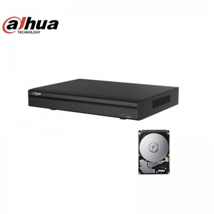 DAHUA XVR5116HS-X DVR 5in1 AHD CVI TVI CVBS IP 16 CANALI FULL HD 1080P 500GB
