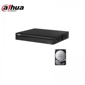 XVR DVR IBRIDO CLOUD DAHUA 5in1 AHD CVI TVI CVBS IP 4 CANALI UTC FULL HD P2P HD 320 GB
